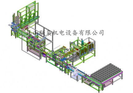 4L全自动灌装生产线(客户效果图)