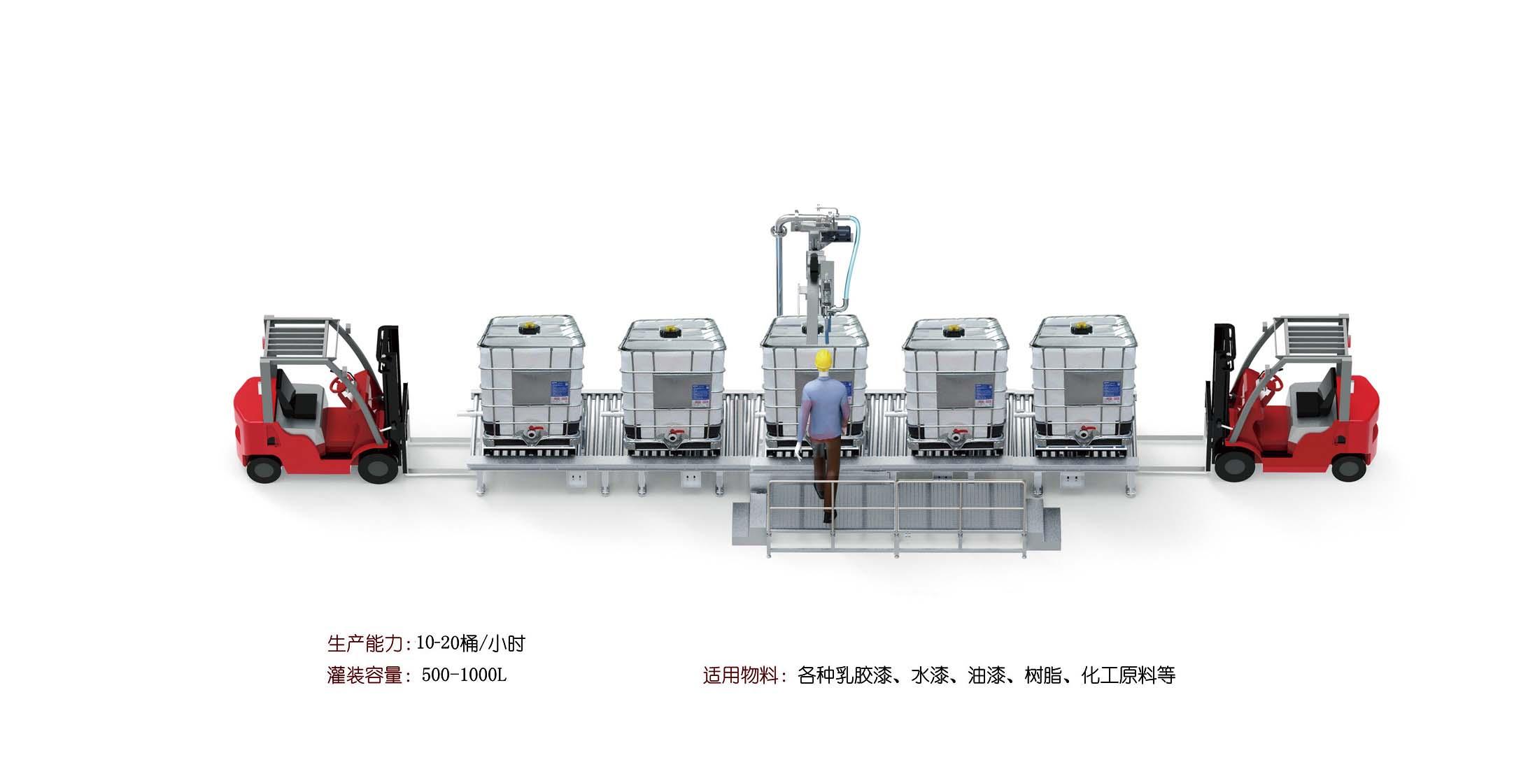 BCF-1200L液体灌装机流水线-1